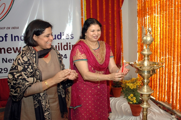 AIIS Director-General Purnima Mehta and Professor Naseem Hines