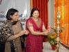 AIIS Director-General Purnima Mehta and Professor Naseem Hines