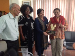 Purnima receives MAC-CAE award