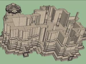 CAA 3D Model 4x3