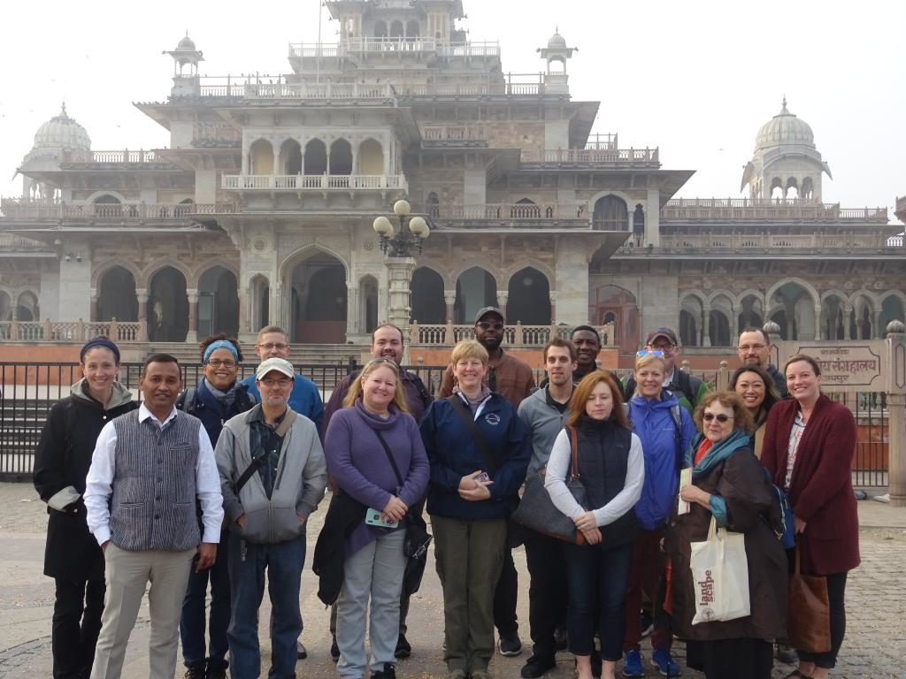 FDS India Group photo in front of Albert Hall Museum