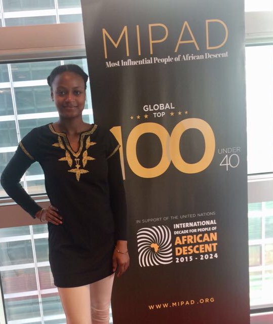 Jazmin Graves at MIPAD