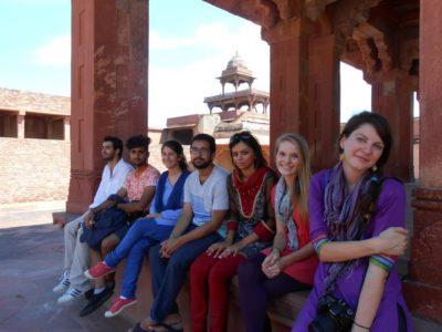Tali Datskovsky Fatehpur Sikri trip