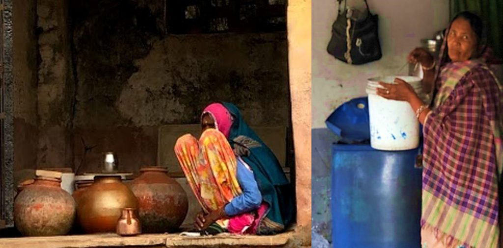 women and water in urban India