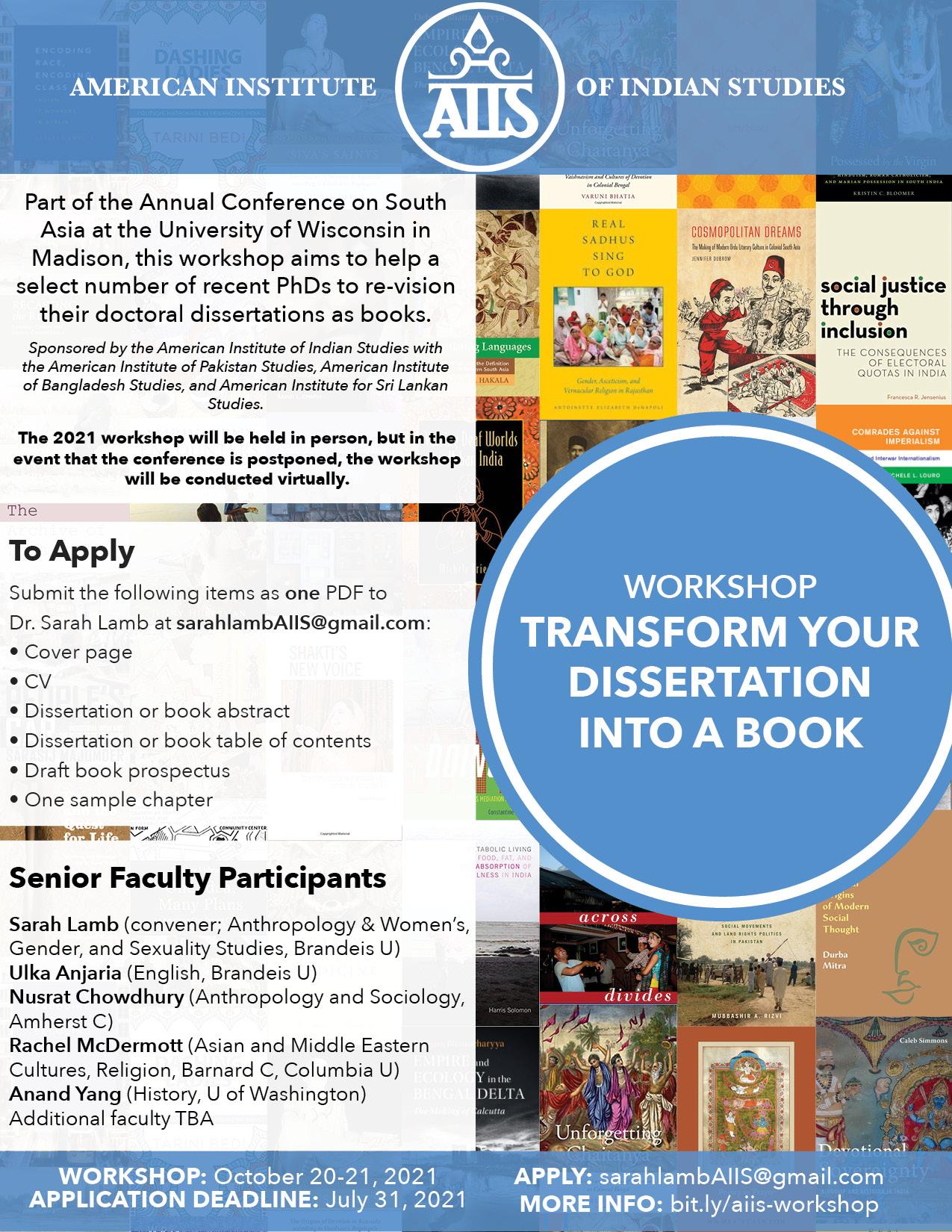 Phd dissertation proposals